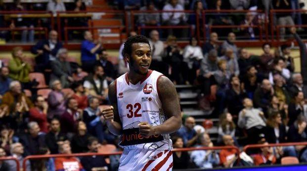 Per Johnson si tratta di un ritorno: aveva già giocato a Forlì nel 2016/17 (Foto Fantini)