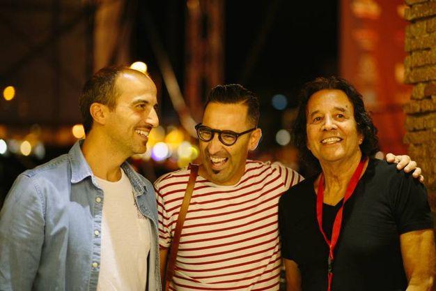 Alessandro e Angelo con Chris Montez