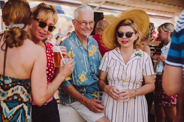 Turisti da tutto il mondo per il festival Summer Jamboree (ph Marco Matteucci)