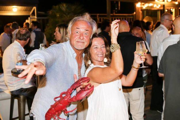 Gli ex collaboratori del patron lo ricordano con una grande festa (foto Petrangeli)