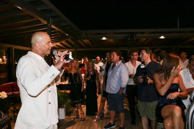 La festa al Rockisland (foto Petrangeli)