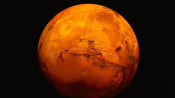 Marte, il Pianeta rosso (Ansa)