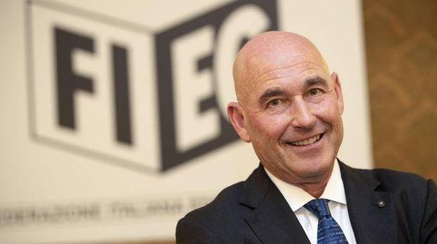 Andrea Riffeser Monti, presidente della Fieg (Ansa)