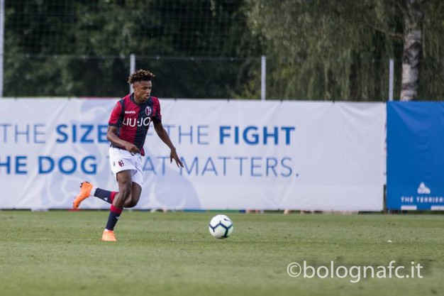 Kingsley palla al piede (foto Bfc)