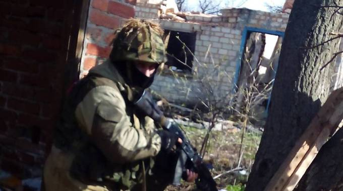 Istantanee dal fronte del Donbass