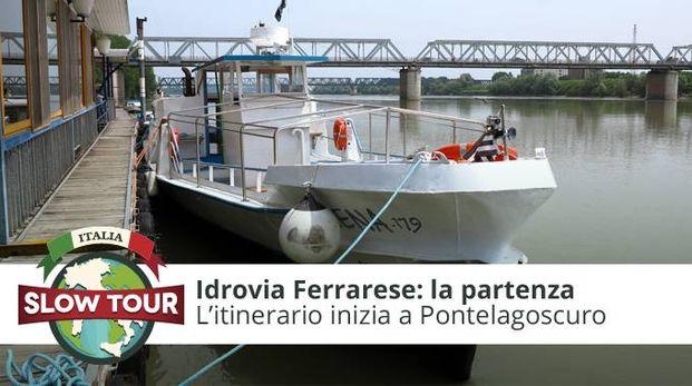 Idrovia Ferrarese: la partenza!