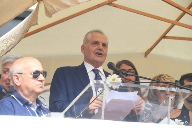 Paolo Bolognesi, presidente associazione familiari delle vittime (FotoSchicchi)