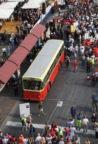 Il bus in stazione (FotoSchicchi)