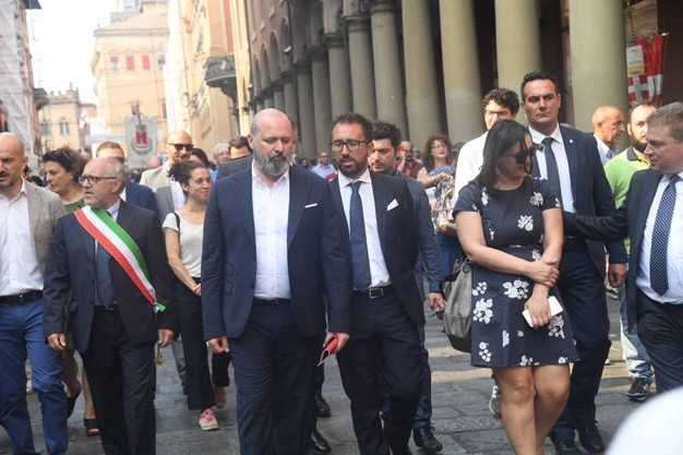 Il governatore dell'Emilia Romagna Stefano Bonaccini (FotoSchicchi)