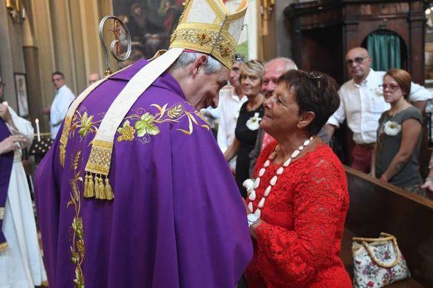 La messa in suffragio celebrata dall'arcivescovo Zuppi (FotoSchicchi)