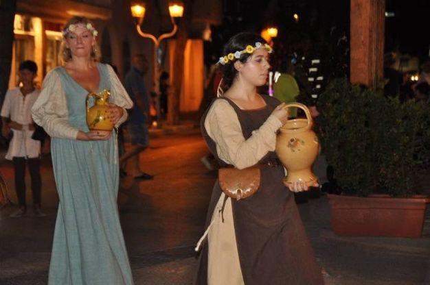 Tuffo nel Medioevo (Foto Concolino)