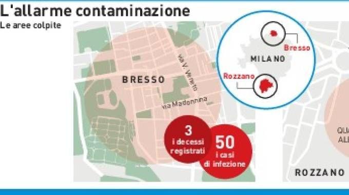 La mappa della contaminazione