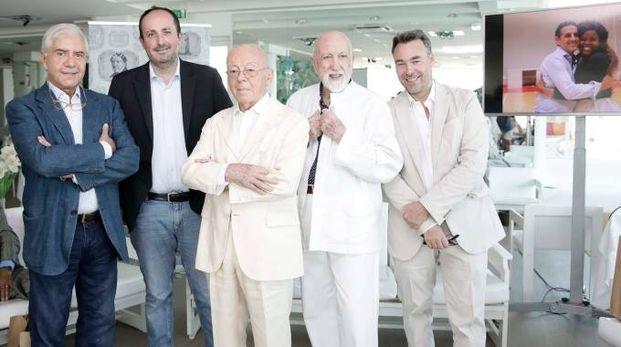 Da sinistra Palacio, Vimini, Mariotti, Pizzi e Abel