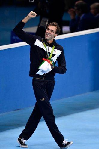 Alle Olimpiadi di Rio 2016 (foto LaPresse)