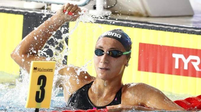 Europei di nuoto 2018, Quadarella medaglia d'oro negli 800 (Ansa)