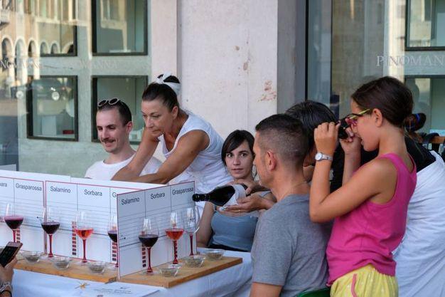 La notte bianca del cibo a Modena (Foto Fiocchi)