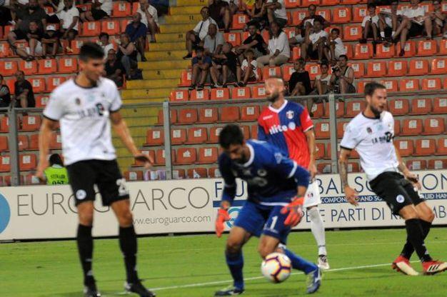 Spezia-Sambenedettese, le foto della partita (Frascatore)