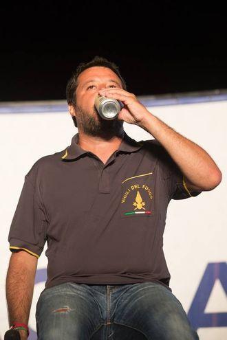 Salvini alla festa della Lega fa il pieno (Foto di Zani)