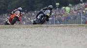 Moto2 a Brno: Luca Marini, fratello di Valentino Rossi arriva secondo (Foto Ansa)