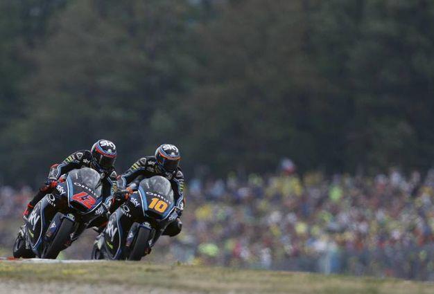 Luca Marini a Brno parte in prima fila per la terza volta consecutiva (Foto Ansa)