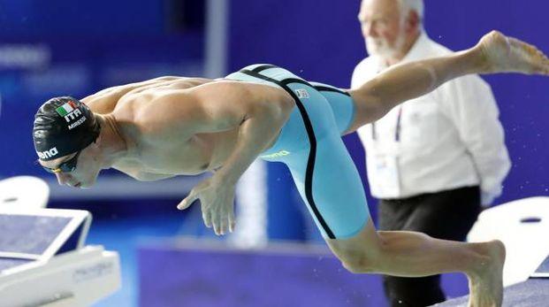 Europei nuoto 2018, Alessandro Miressi (Ansa)