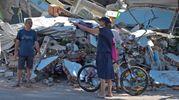 Distruzione a Bangsal (Lapresse)
