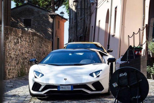 Nello spot una Aventador, una Huracan e la Urus prodotta nel Bolognese (foto Petrangeli)