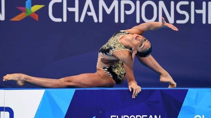 Europei nuoto sincronizzato 2018, Linda Cerruti bronzo nel solo tecnico (Afp)