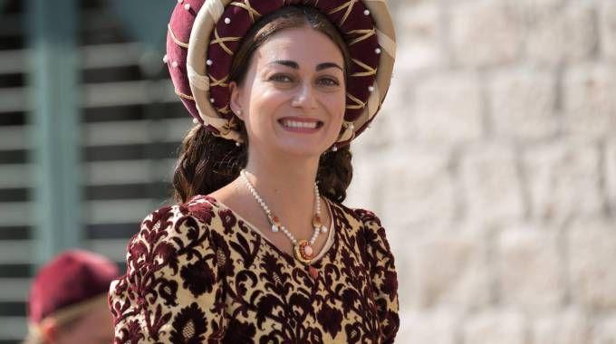La dama di Porta Maggiore con un gioiello di Davide De Iulis