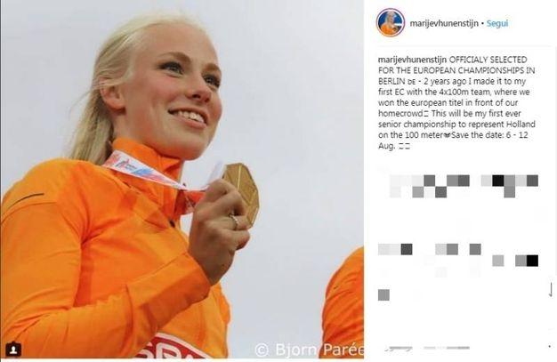 Marije van Hunenstijn (Instagram)