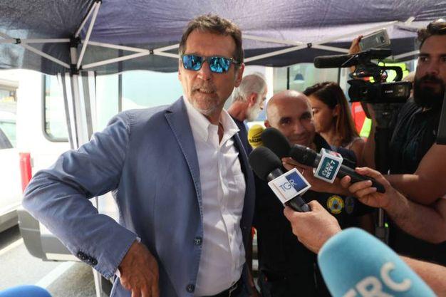 Il sindaco a Borgo Panigale incontra residenti e commercianti (foto Schichci)