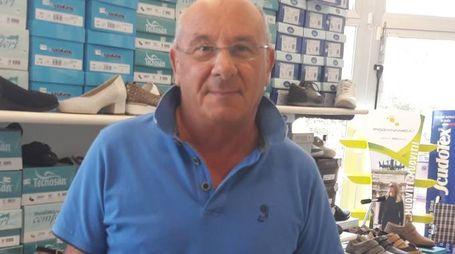 Sergio Bertoletti, titolare di un'azienda nella zona di via Gambellara
