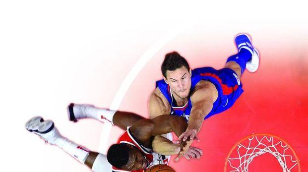 Danilo Gallinari gioca  in NBA con i Los Angeles Clippers (Ansa)