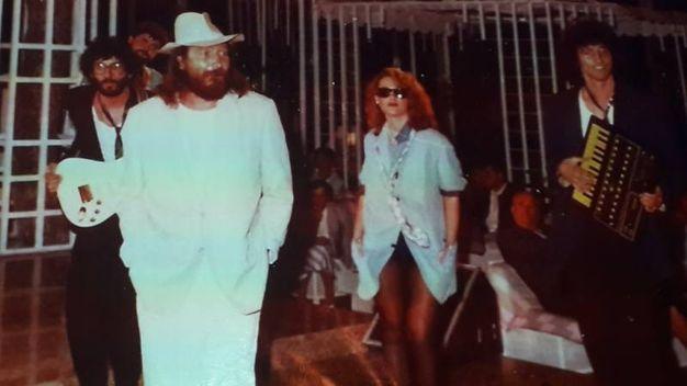Mingardi al Paradiso negli anni '80
