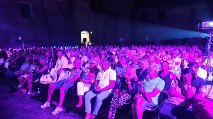 Il pubblico a Castel Sismondo