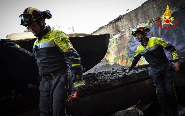 L'impegno dei vigili del fuoco