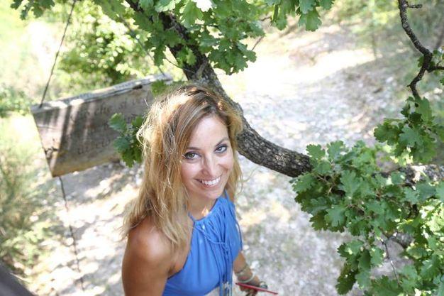 La proprietaria Francesca Maffei per festeggiare il decimo anniversario della casa sull'albero ha indetto un concorso per la notte di San Lorenzo(foto Solidea Vitali Rosati)