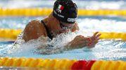 Arianna Castiglioni, record italiano nei 50 rana (Ansa)