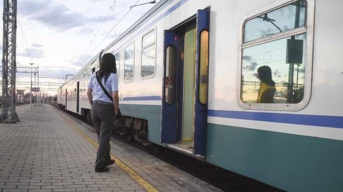 Un treno Trenord