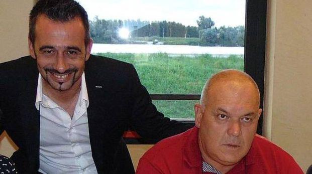 Da sinistra Roberto Pizzoli e Claudio Bellan (Foto Braghin)