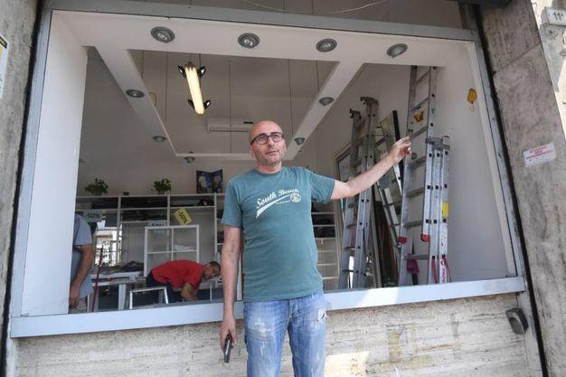 Maurizio Giovannelli del negozio di abbigliamento Morbidissime (FotoSchicchi)