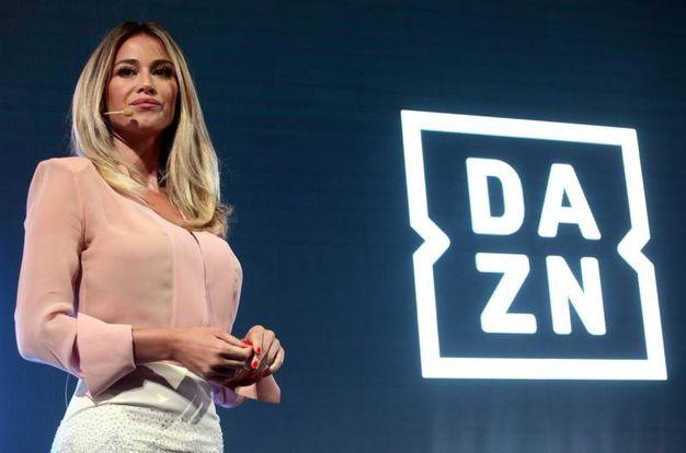 Diletta Leotta alla presentazione della piattaforma Dazn (Foto LaPresse)