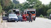 L'incidente è avvenuto a Fermo (foto Zeppilli)