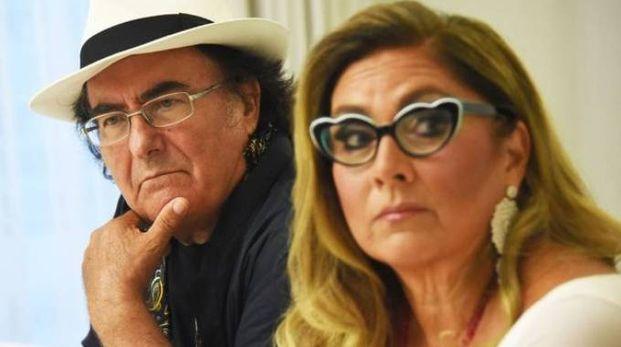 Al Bano e Romina al Grand Hotel dopo lo show saltato al Beat Village (foto Migliorini)