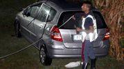 L'auto dopo l'incidente (foto Businesspress)