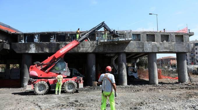 Incidente A14, lavori in corso a Bologna (FotoSchicchi)