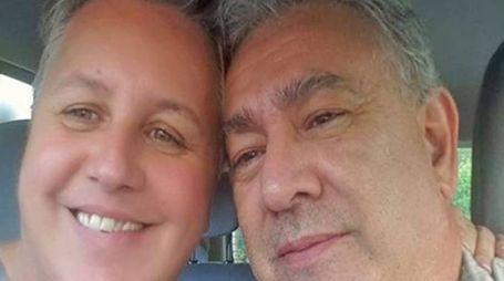 Claudio Landi con la moglie Sara Roggeri