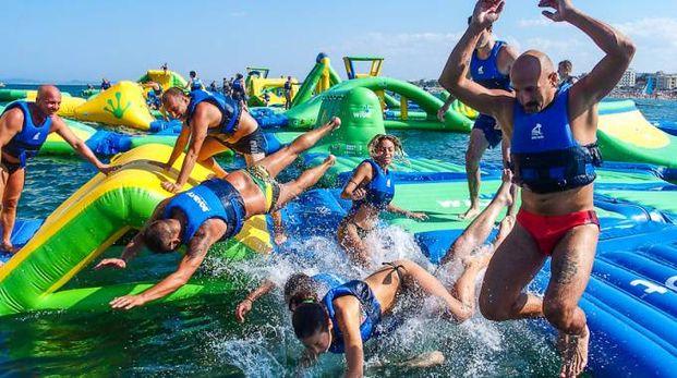Tuffo nel mare Adriatico