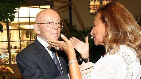 Gianfranco Mariotti con Silvana Ratti