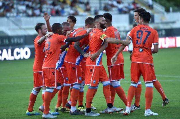 Con un gol di Petagna la Spal espugna il Picco di La Spezia e accede al quarto turno eliminatorio di Coppa Italia (foto Businesspress)